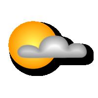 Poco nuvoloso per velature