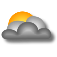 Nuvoloso o molto nuvoloso